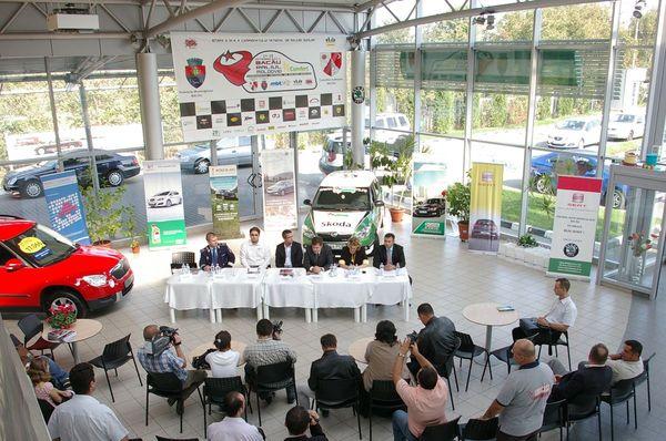 Conferinta de presa - Raliul Moldovei Comfert - Bacau 2011