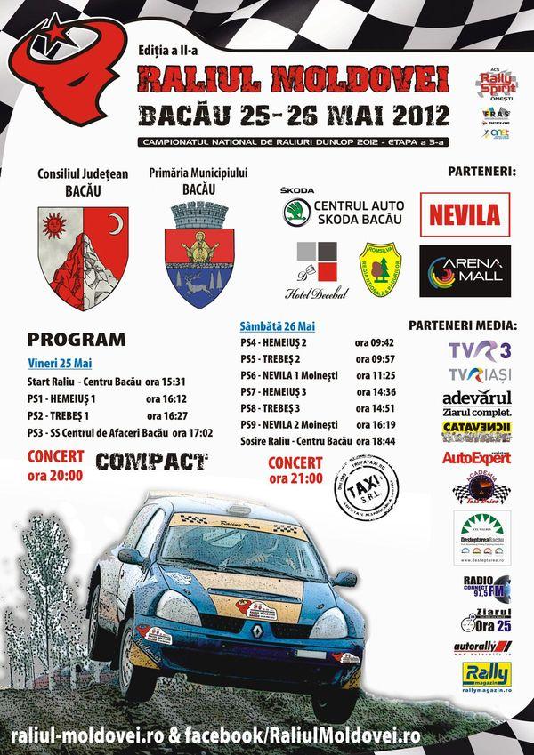 Poster Raliul Moldovei-Bacau 2012