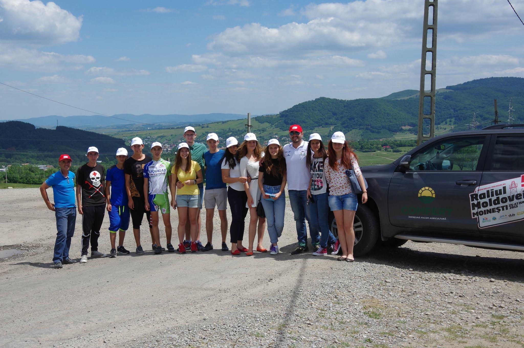 Voluntar raliul moldovei